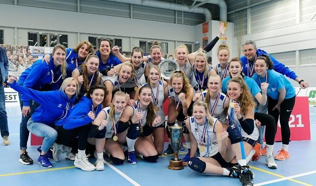 <p>Sliedrecht Sport is voor de zesde keer Landskampioen</p>