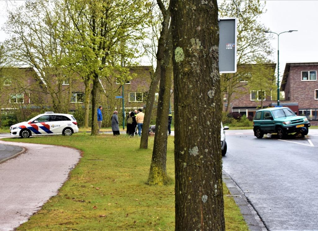 Het ongeval gebeurde op de kruising van de Koningsweg en de Obrechtstraat. Eempers © BDU media