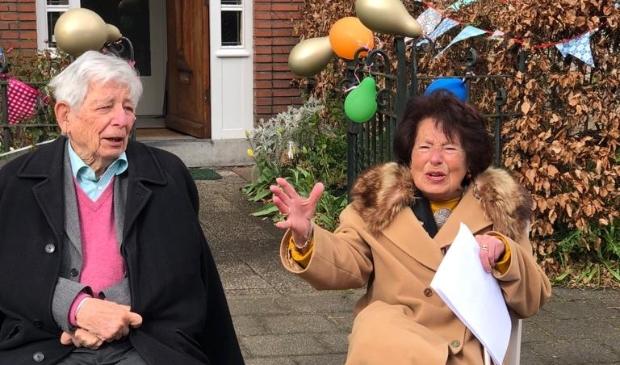 <p>Raúl en Benita Wiessing 60 jaar getrouwd</p>