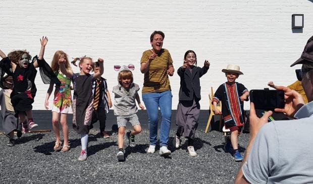 De jongste groep van BO!NK Theaterschool presenteerde The Wizard of Oz.