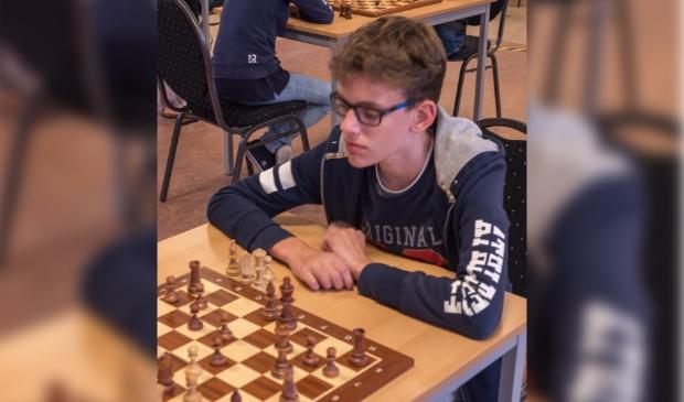 Karel Peursem, koploper jeugdkampioenschap
