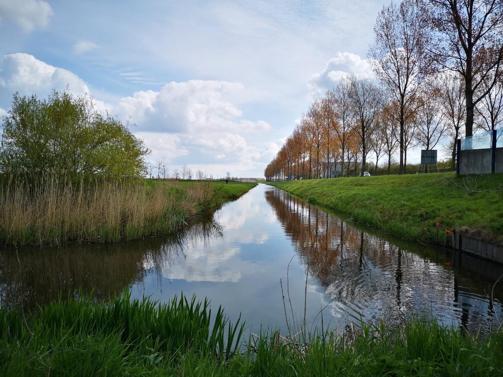 Een mooi vergezicht in de buurt van Hoofddorp. Astrid © BDU media