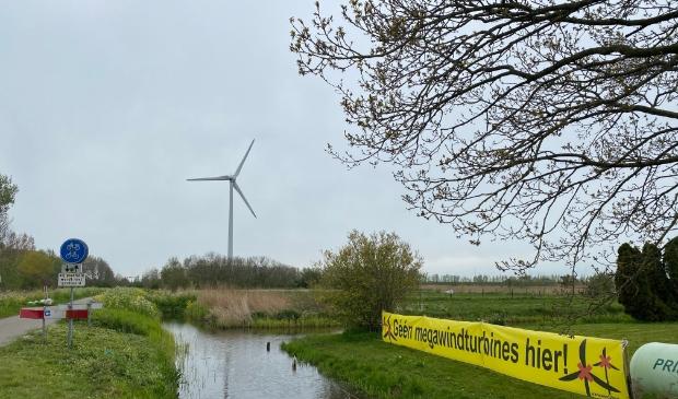 Verzet van een omwonende van de huidige windmolen