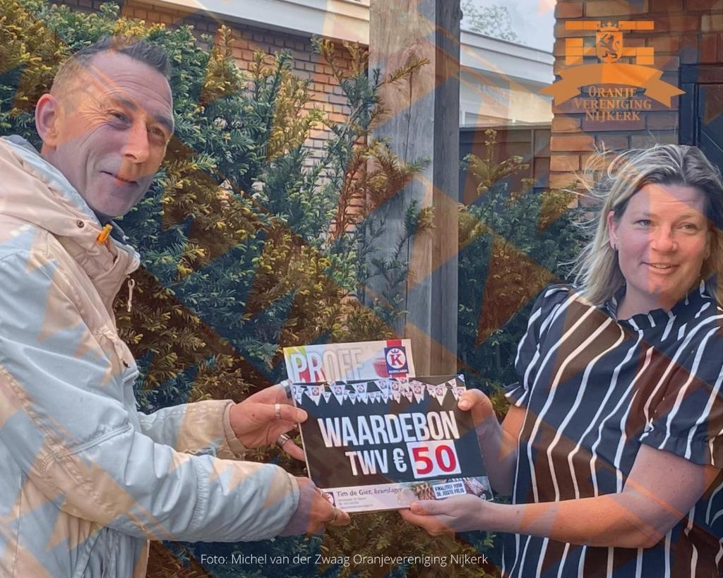 Michel van der Zwaag/Oranjevereniging Nijkerk © BDU Media