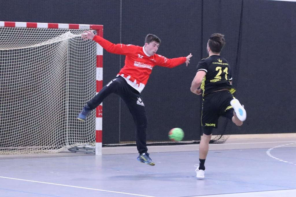 Handbal Houten - Hellas Hanna Koops © BDU media