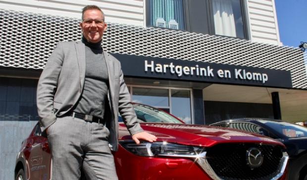 <p>Ren&eacute; Klomp, de Mazda-dealer van de regio.</p>