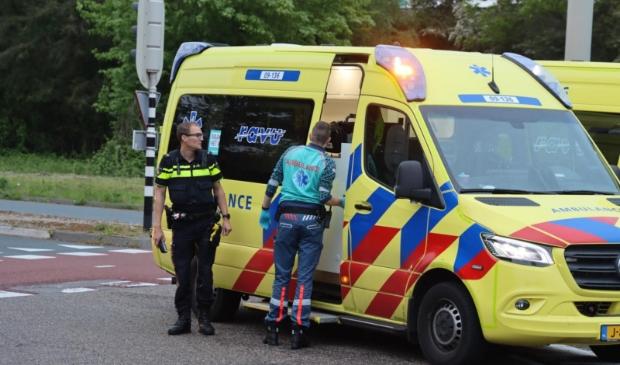<p>Twee ambulances kwamen ter plaatse</p>