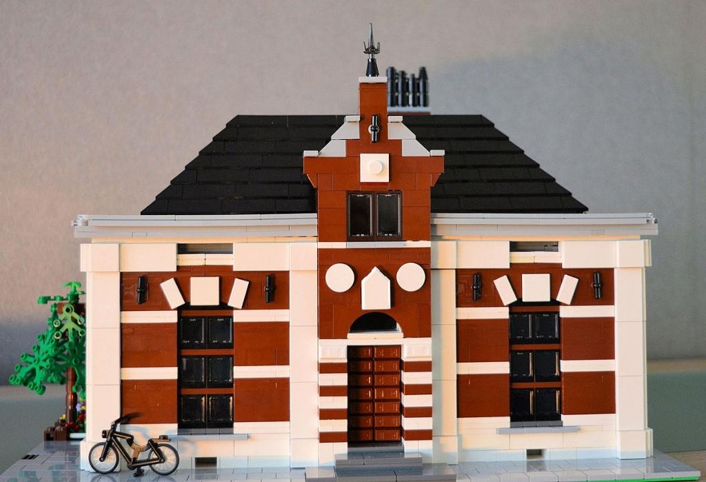 Het gemeentehuis zonder verdieping voor 1917 Wim Erwich © BDU media