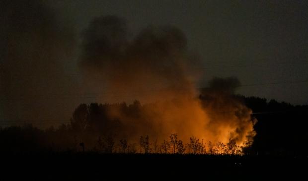 Ontploffing bij caravanbrand Koen Laureij © BDU media