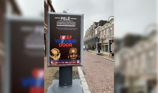 De open expositie met de 'verschilmakers' van de studenten in de straten van Wageningen