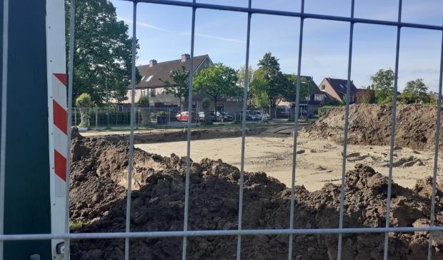 De bouw aan de Rozelaar in Odijk is nu echt gestart