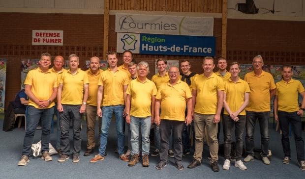 Het gele leger in Frankrijk, nu in Sliedrecht