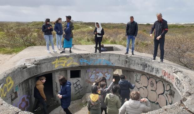 Uitleg over de bunkers in IJmuiden.