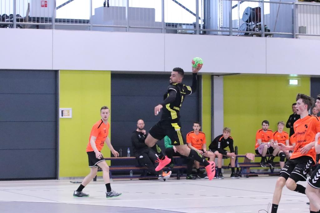The Dome/Handbal Houten - Volendam 2 Hanna Koops © BDU media