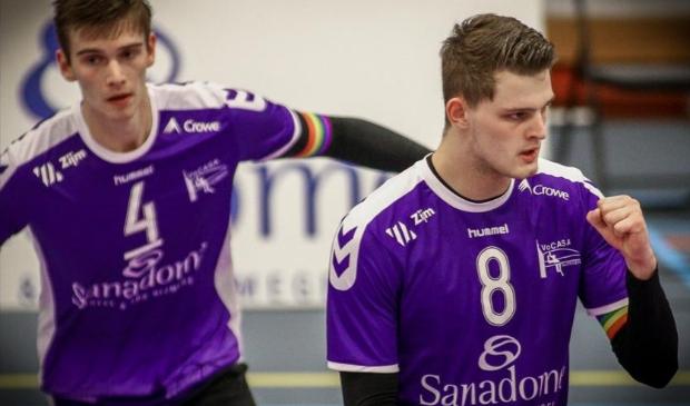 <p>Jesper van Muijden in actie voor VoCASA </p>