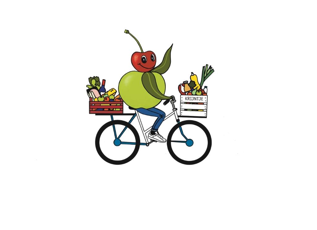 Krijntje gaat op de fiets door de Kromme Rijnstreek Fietsen voor mijn eten © BDU media