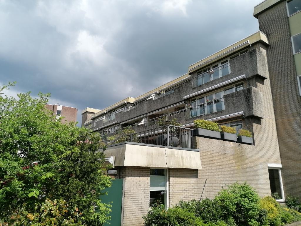 Het wooncomplex aan de Dorser dateert van 1987 en ligt op steenworpafstand van De Hamershof. Peter Beijer © BDU media
