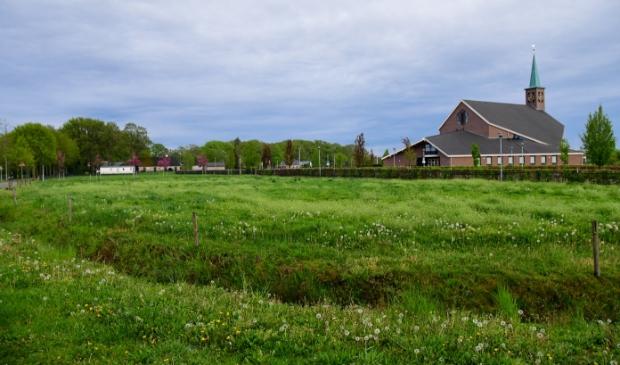 <p>De locatie aan de Bijsterensweg waar de gemeente tijdelijke woningen wil bouwen.</p>