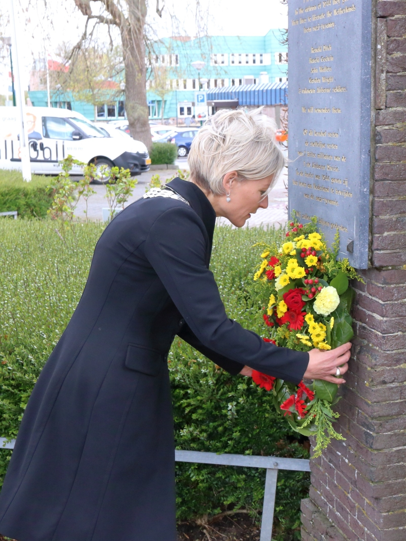 Bij de begraafplaats aan de Steenstraat Barry Bosman © BDU media
