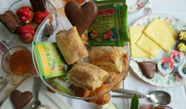 High Tea@home van Bakker Outop 9 mei voor Moederdag! Superlekker en gezellig!