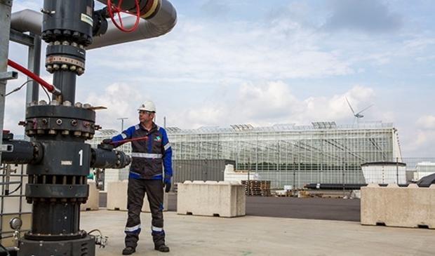 In Andijk staat 1 van de 3 Noord-Hollandse geothermie-installaties.