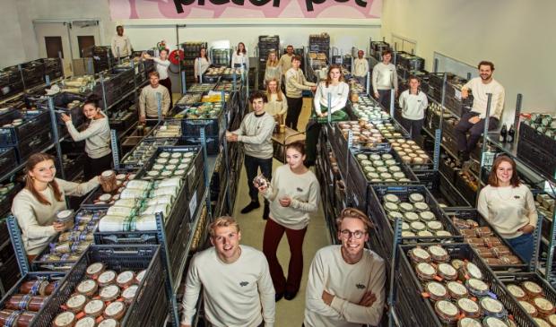 <p>Pieter Pot, de online supermarkt met circulaire verpakking.</p>