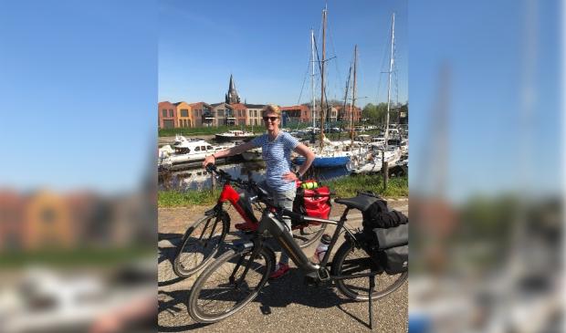 <p>Zowel Johan als zijn vrouw H&eacute;l&egrave;ne hebben een Gazelle Ultimate e-bike van Het Fietsenhuis.</p>