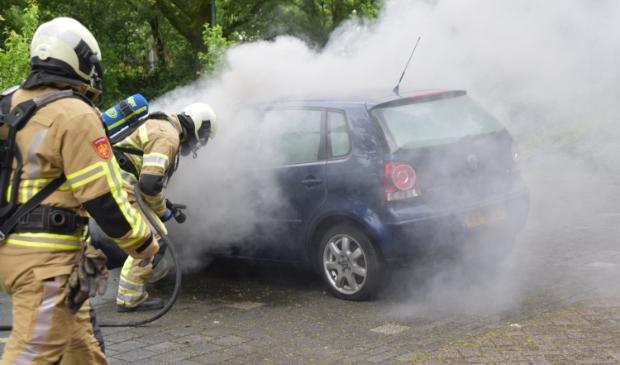 <p>De auto was niet meer te redden.</p>