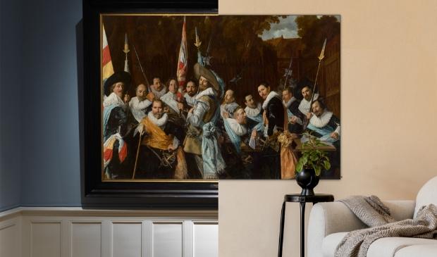 <p>Vergadering van de Cluveniersschutteri - Frans Hals.&nbsp;</p>