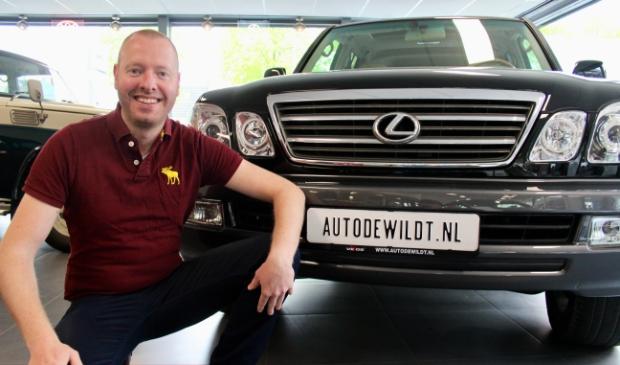 <p>Occasions van het merk Lexus importeert Rob de Wildt tegenwoordig uit de USA.</p>