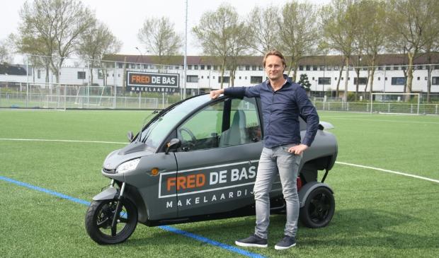 Fred de Bas zoekt graag verbinding met het lokale verenigingsleven.