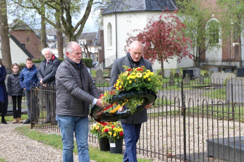 Bij het Piet de Springer monument in Langbroek Barry Bosman © BDU media