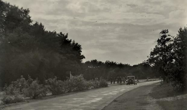 <p>De Zeeweg in 1935.</p>