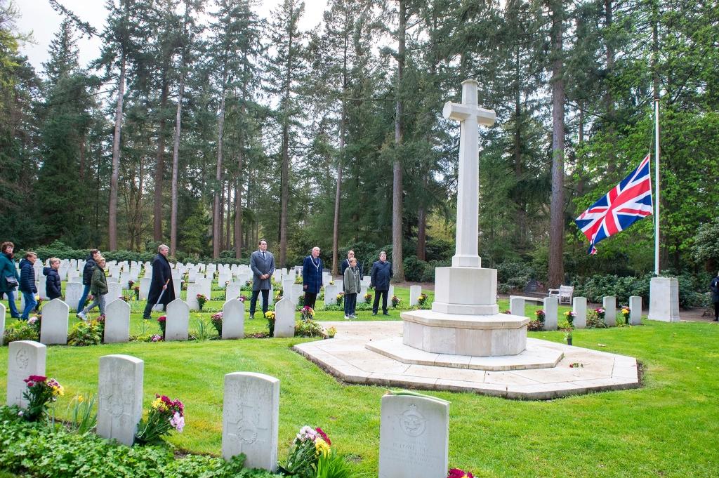 4 mei herdenking Rusthof Rinus van Denderen © BDU media