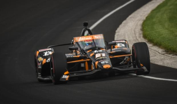 <p>Rinus van Kalmthout finishte als achtste in de Indy500.</p>