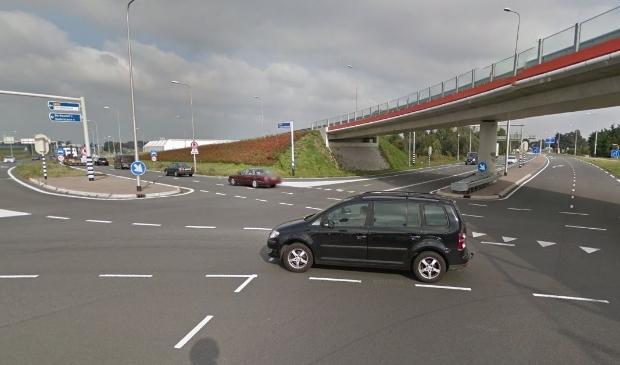 <p>Kruispunt N201/Legmeerdijk.</p>