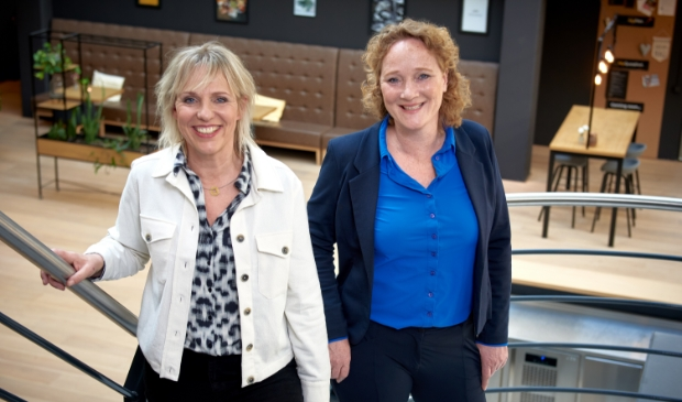 <p>Erica Dalsem en Wendy Hiele, eigenaressen van Hiele en Dalsem Makelaardij.</p>
