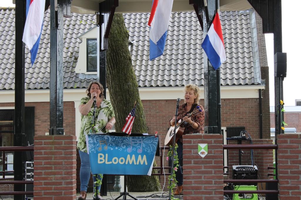 Bloomm speelt in muziektent op de Brink Noa de Ruijter © BDU media