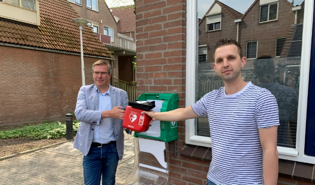 <p>Eddy Veth van Kooyman Eigen Huis (links) en Bas van Houwelingen (rechts)</p>