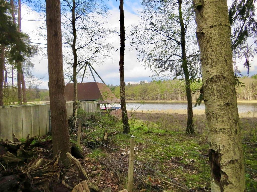 Uitkijkpunt bij het Hilversums Wasmeer (Heide-ven) Onno Wijchers © BDU media
