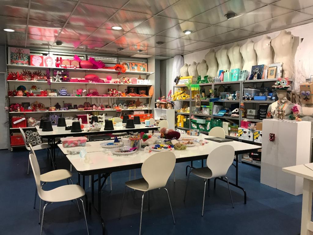 Workshopruimte in de Kunstfactorij de Kunstfactorij © BDU Media