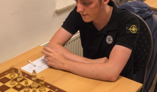 Toernooiwinnaar William Gijsen