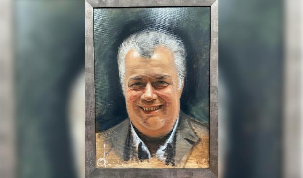 <p>Schilderij met de beeltenis van Paul Vos.</p>