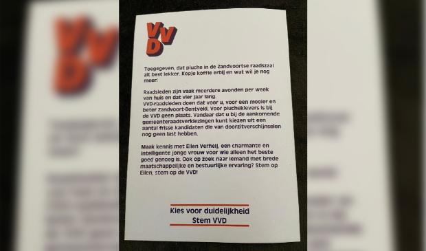 Poster VVD. vvd © BDU Media
