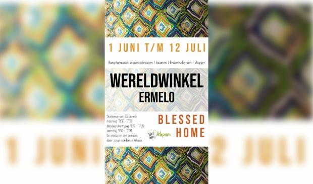 Flyer verkoop Wereldwinkel Ermelo