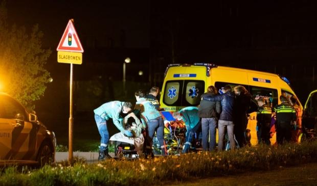 Ongeluk op het Hofstadpad