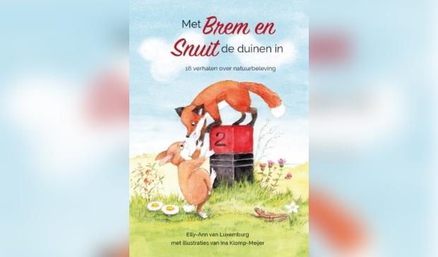 De cover van het boek: Met Brem en Snuit de duinen in.