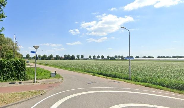<p>De gebied ten zuiden van de van Hattumweg waar de nieuwe wijk moet verrijzen.</p>