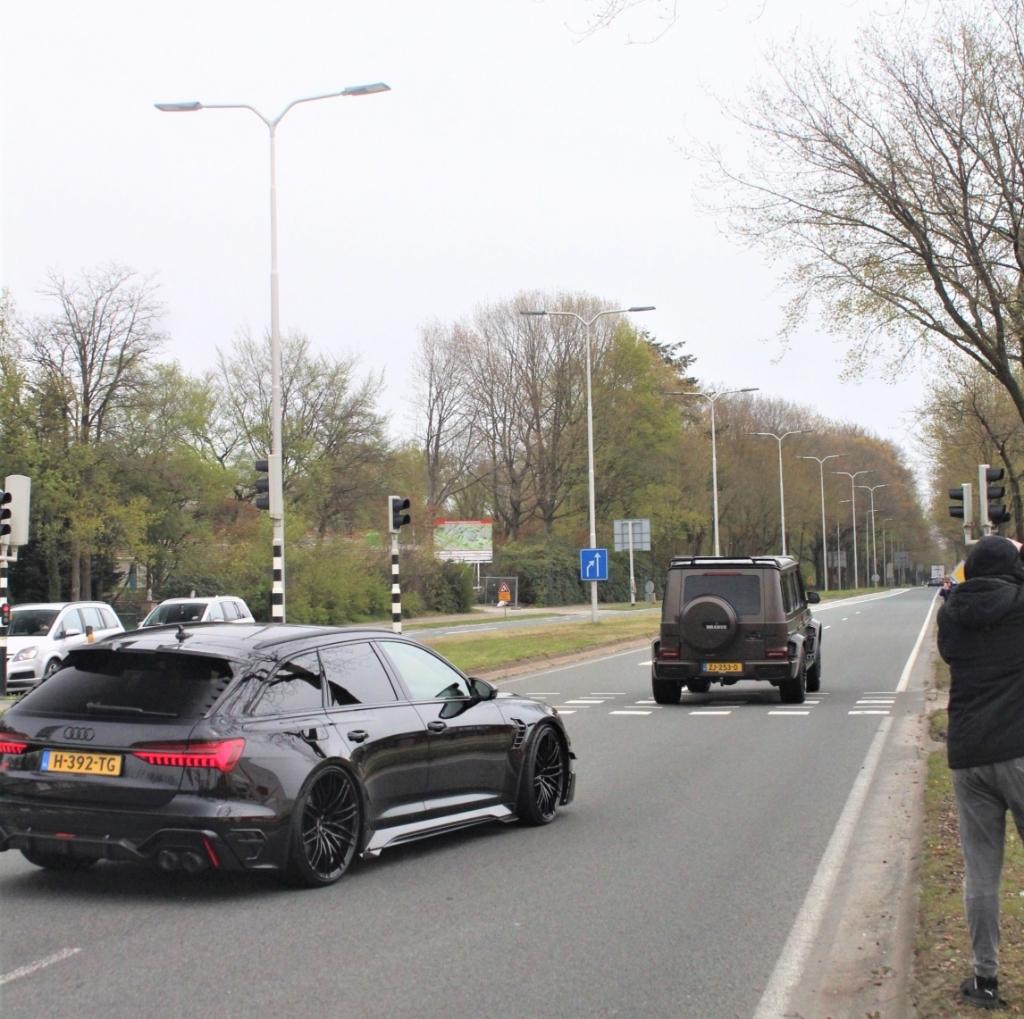 Ook gespot in Soesterberg: de Audi RS6 e ABT met een prijskaartje van 320.000 euro. Eigen foto © BDU media