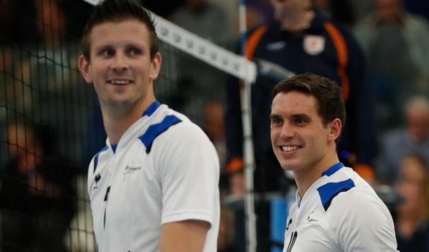 Gerard Baan en Wessel Anker strijden volgend jaar wederom in hetzelfde team, maar dan Heren 2 van Sliedrecht Sport.